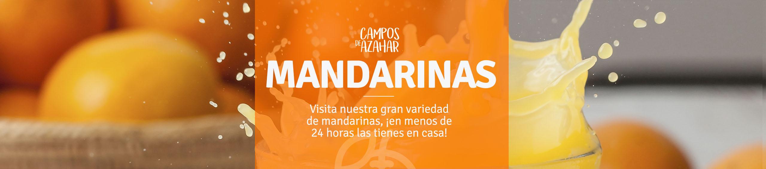 Mandarinas de Campos de Azahar
