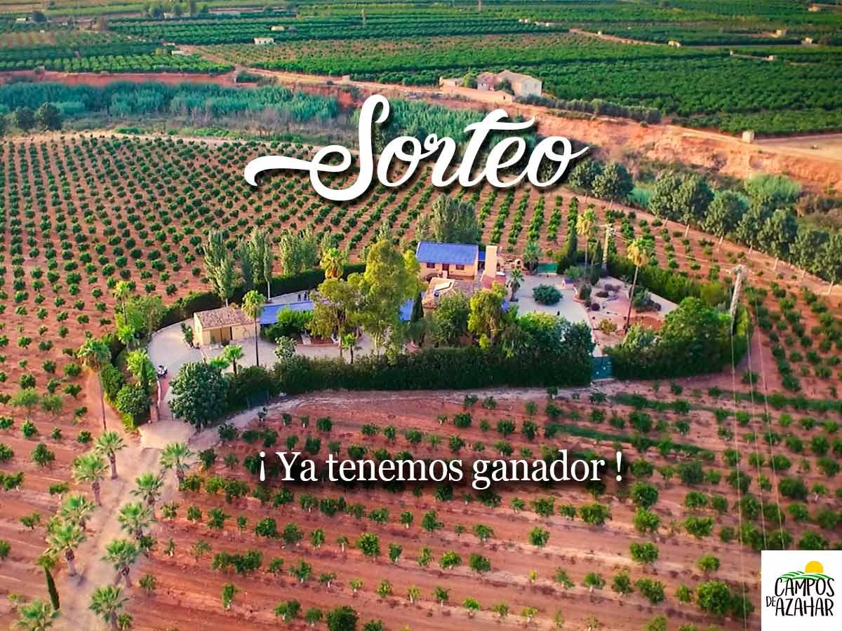 Sorteo Campos de Azahar