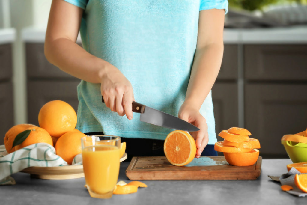 beneficios de la naranja para la salud - campos de azahar