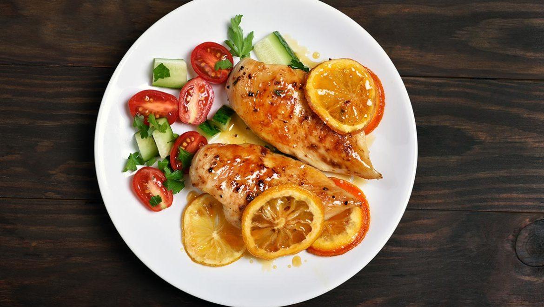 pollo a la naranja - campos de azahar