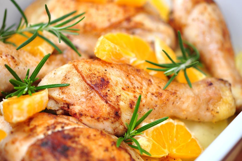 pollo a la naranja interna - campos de azahar