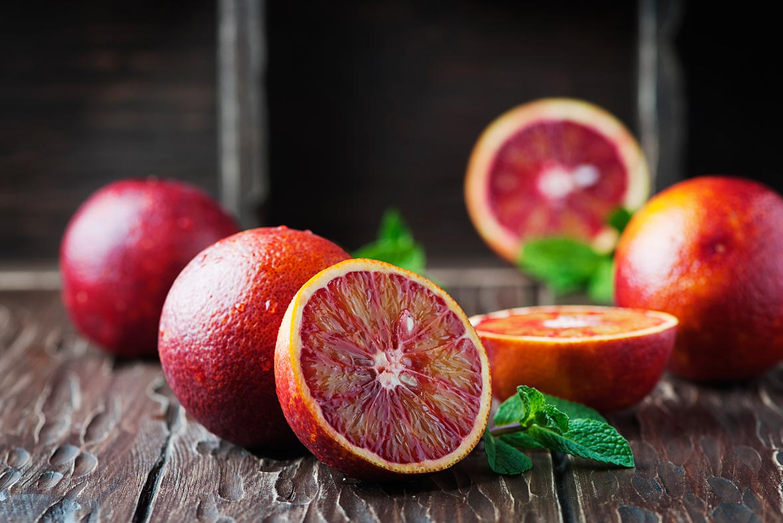 que beneficios tiene la naranja roja o sanguina - campos de azahar