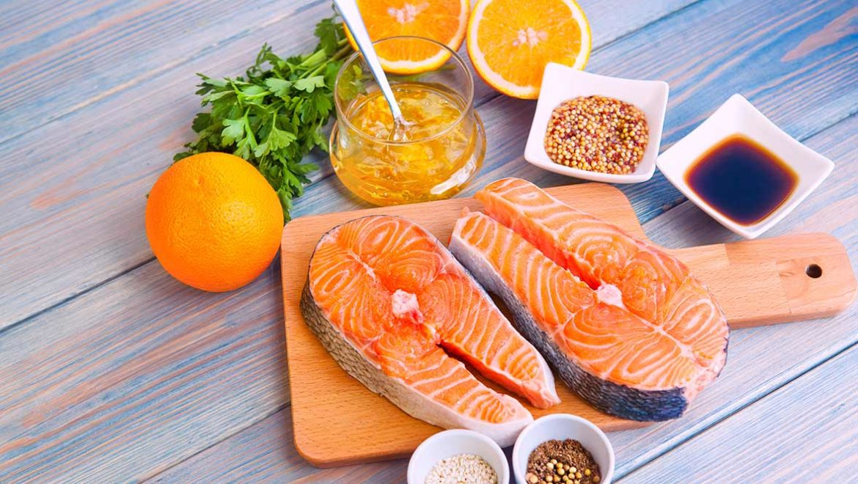 receta salmon a la naranja - campos de azahar
