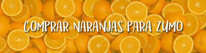 zumo de naranja natural banner - campos de azahar
