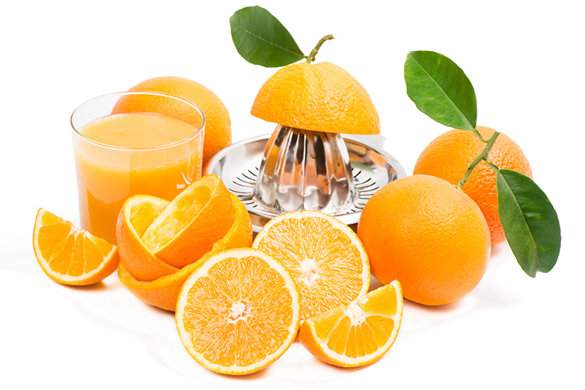 zumo de naranja natural imagen interna - campos de azahar