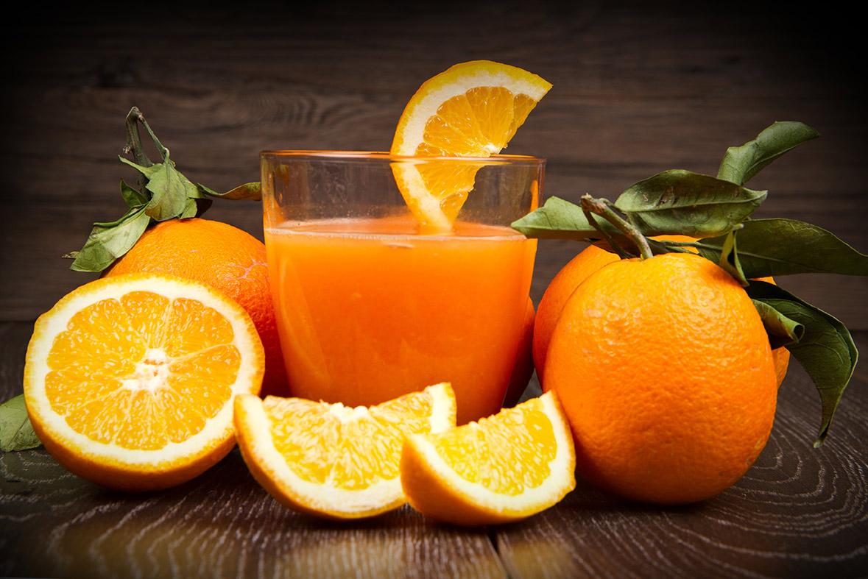 zumo de naranja natural interna- campos de azahar