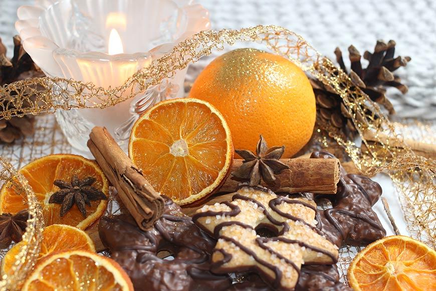 galletas de naranja y chocolate receta facil y rapida - campos de azahar