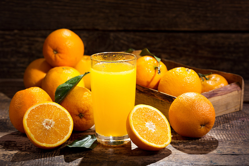 curiosidades de la naranja - campos de azahar