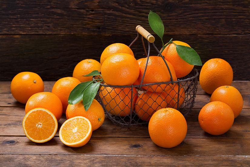pudin de naranja - campos de azahar