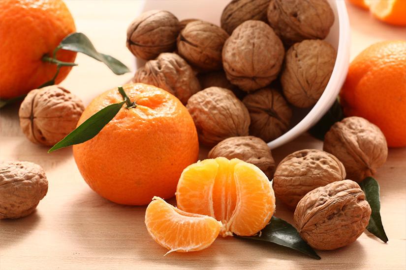 Bizcocho De Mandarina Y Nueces Campos De Azahar