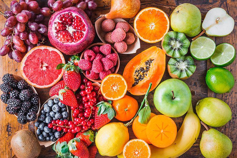 las frutas con mas antioxidantes para cuidar tu salud - campos de azahar