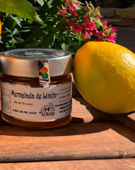 Mermelada Limon img1 - campos de azahar