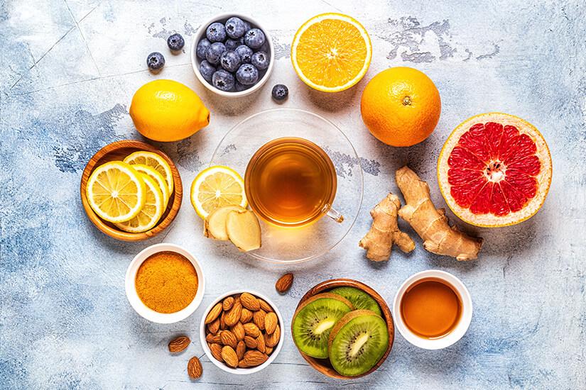remedios naturales para el resfriado - campos de azahar