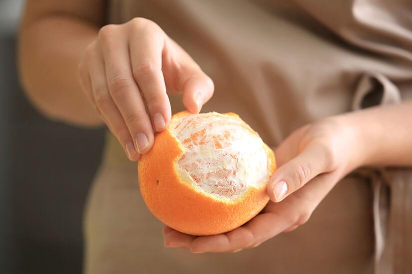 como pelar una naranja facilmente - campos de azahar